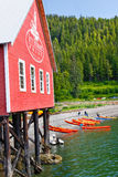 Alaska Icy Strait Point Kayak Tour Stock Images