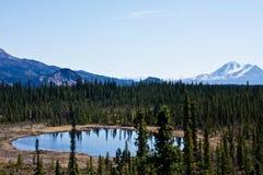 Alaska interior imágenes de archivo libres de regalías