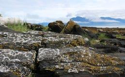 Alaska Island Coastal Landscape Royalty Free Stock Photography