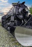 Alaska järnvägmotor 556 Arkivfoto