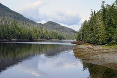 alaska jeziora. Zdjęcie Royalty Free