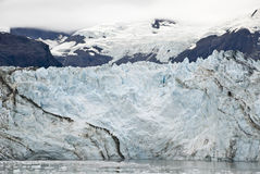 Alaska - Johns Hopkins Glacier. USA Alaska, Glacier Bay National Park and Preserve, UNESCO - World Heritage site, UNESCO - World Biosphere Reserve, Johns Hopkins Stock Photo
