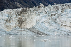 Alaska - Johns Hopkins Glacier. USA Alaska, Glacier Bay National Park and Preserve, UNESCO - World Heritage site, UNESCO - World Biosphere Reserve, Johns Hopkins Royalty Free Stock Image