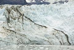 Alaska- - Johns- Hopkinsgletscher stockbild