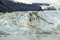 Alaska- - Johns- Hopkinsgletscher stockbilder
