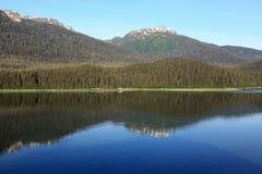 Alaska-Küstenlinie in Juneau Stockbilder