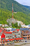 Alaska Ketchikan Cruise Shopping Area Stock Images