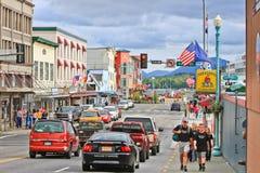 Alaska Ketchikan do centro Foto de Stock Royalty Free