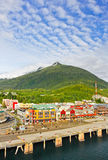 Alaska Ketchikan Downtown Waterfront Stock Image