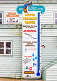 Alaska Ketchikan Liquid Sunshine Rain Gauge Royalty Free Stock Image