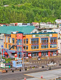 Alaska Ketchikan Shopping Royalty Free Stock Photography