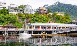 Alaska Ketchikan Waterfront Berth 3 Shopping Stock Photography