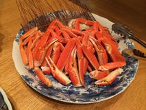 Alaska King Crab. Legs Stock Images