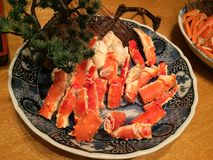 Alaska King Crab. Legs Royalty Free Stock Images