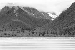 Alaska krajobraz Zdjęcia Stock