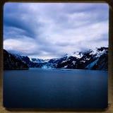 Alaska-Kreuzfahrt 35 Millimeter-Dias ` s Ausflüge der Weinlesereise 1970 und -familie Stockfotos