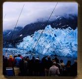 Alaska-Kreuzfahrt 35 Millimeter-Dias ` s Ausflüge der Weinlesereise 1970 und -familie Lizenzfreie Stockfotos