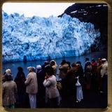 Alaska-Kreuzfahrt 35 Millimeter-Dias ` s Ausflüge der Weinlesereise 1970 und -familie Stockfotografie