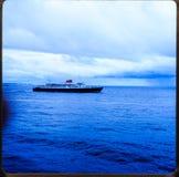 Alaska-Kreuzfahrt 35 Millimeter-Dias ` s Ausflüge der Weinlesereise 1970 und -familie Lizenzfreie Stockfotografie