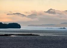 Alaska kust Arkivfoton
