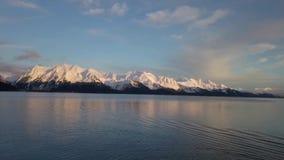 Alaska kust- sikter arkivfilmer