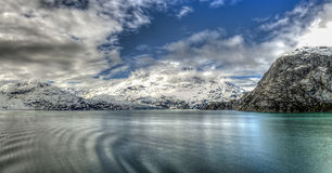Alaska la última frontera Amerika del norte Royaltyfri Fotografi