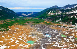 Alaska the land of beauty (aerial view) Royalty Free Stock Photos