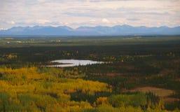 Alaska landskaplandskap Arkivfoton