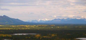 Alaska landskaplandskap Fotografering för Bildbyråer