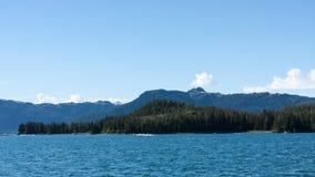 Alaska linia brzegowa Zdjęcia Royalty Free