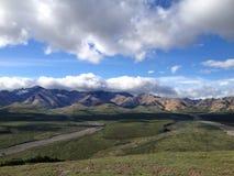 Alaska linia horyzontu Zdjęcie Royalty Free