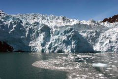 alaska lodowa hubbard Obrazy Royalty Free