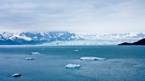 alaska lodowa hubbard s Zdjęcie Royalty Free