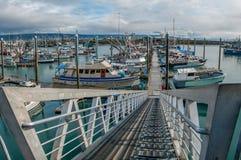 Alaska Marina wejście Zdjęcie Stock