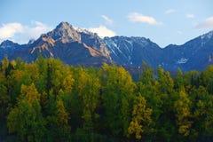 alaska mountain Stock Photos