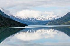 Alaska Mountain Lake Stock Photography