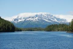 Alaska Mountain  Landscape. An Alaska landscape in Prince William Sound on a summer day Royalty Free Stock Photo