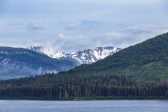 Alaska Mountains Into Distance Stock Image