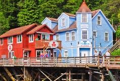 Alaska - Nebenfluss-Straße kaufenKetchikan Lizenzfreies Stockfoto