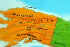 Alaska - North America. Alaska, is a U.S. state located in the northwest extremity of North America stock photos