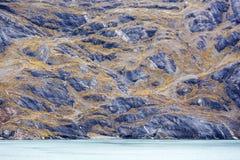 Alaska odmieniania kolory Zdjęcia Stock