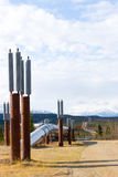Alaska pipeline Royalty Free Stock Photos