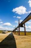 Alaska Pipeline on Dalton highway Royalty Free Stock Photography