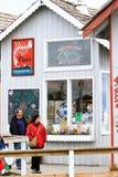 Alaska - Pizza för Homer restaurangfinländare royaltyfri foto