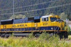 alaska pociąg klasyczny nabrzeżny Zdjęcia Royalty Free