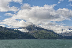 Alaska prince william sound Glacier View Royalty Free Stock Images