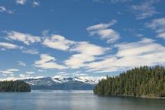 Alaska prince william sound Glacier View Stock Image