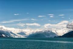Alaska prince william sound Glacier View Stock Photo