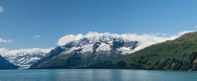 Alaska prince william sound Glacier View Stock Photography