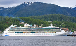 Alaska Radiance of the Seas Cruise Ship Ketchikan Stock Images